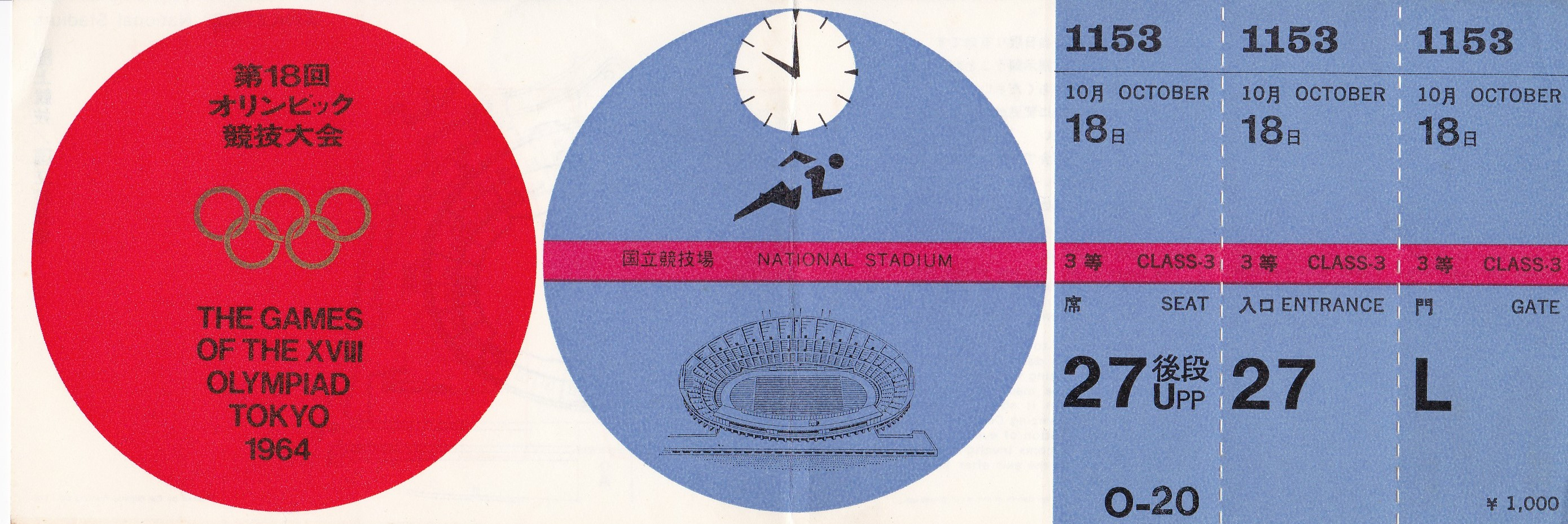 My Ticket for the Tokyo Olympics: What a Day it Would've ...